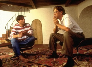 Rare photo of Steve Jobs and Bill Gates